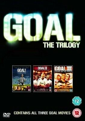 Goal Trilogy 1 + 2 Living the Dream + 3 Taking on the World New DVD Region 2