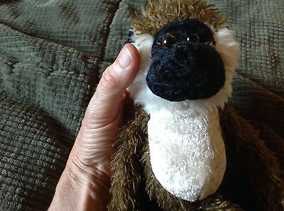 Small Cute Face Lemur / Spider Monkey Stuffed Animal Toy Feed 15Rescue Horses