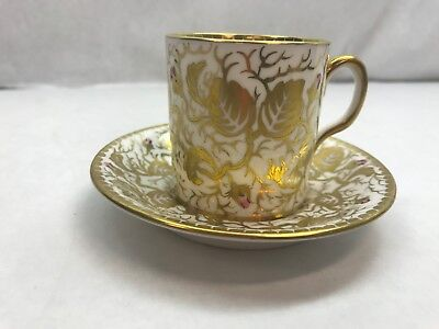 ROYAL CHELSEA English bone china DEMITASSE TEA CUP and SAUCER 193A England