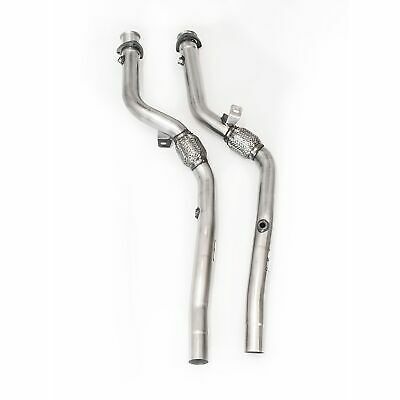 Milltek Non-Resonated (Louder) Exhaust Downpipes/Cat Replacement Pipes SSXAU289