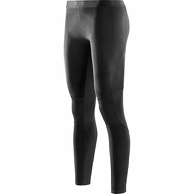Skins Womens Compression Baselayer RY400 Recovery Long Tights - Black