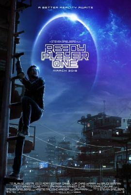 Ready Player One - original DS movie poster - 27x40 D/S Steven Spielberg
