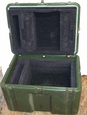 "HARDIGG 20"" 19"" 17"" Shipping Container Hard Case Waterproof Military Used Army"