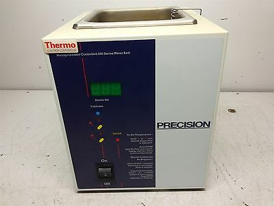 Thermo Precision 280 Series Microprocessor Controlled Water Bath Cat# 51221046