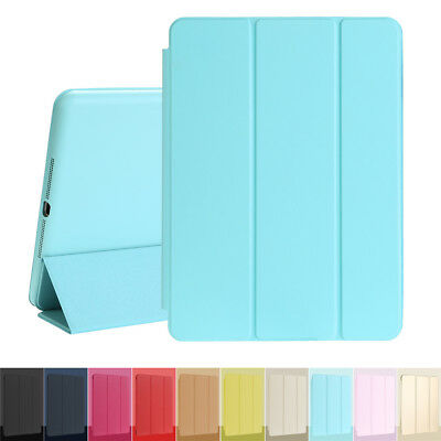 Heavy Shockproof PU Leather Smart Case Cover for iPad 2 3 4 Mini 1 2 3 Air 1 2