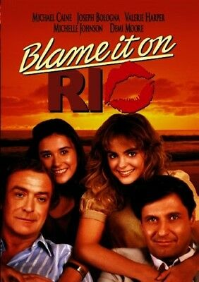 BLAME IT ON RIO New Sealed DVD Michael Caine Demi Moore