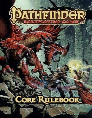 Pathfinder Core Rulebook (Hardcover) PZO 1110