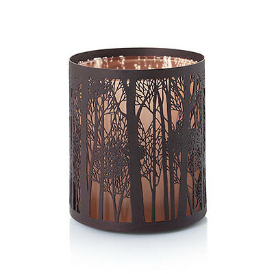 Yankee Candle Twilight Silhouettes 2 Votive Holder Set With Candles Christmas
