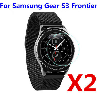 2PCS/Set 9H Tempered Glass Screen Protector For Samsung Gear S3 Frontier