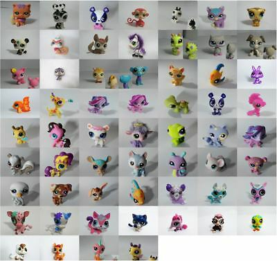 LPS Littlest Pet Shop Dog Cat Fuzzy Sparkle Figure Animal Enfant Choisissez #1