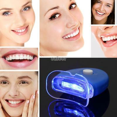 LED Light Dientes Blanqueamiento Dental Kit de Luz Light Tooth Cleaner Care