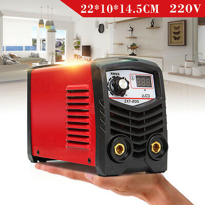 5 In 1 220V 20-120A Handheld Electric Mini Inverter ARC Welding Machine Tool