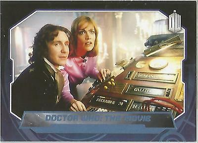 "Topps Doctor Who 2015 - No. 192 ""Dr Who The Movie"" Blue Parallel Card #149/199"