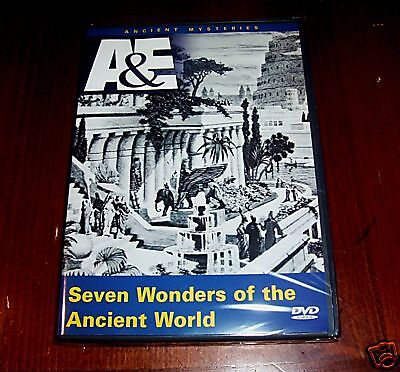 SEVEN WONDERS of the Ancient World A&E History DVD Ancient Wonder Empires NEW