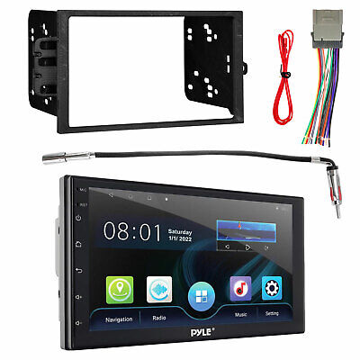 2DIN Touch Screen DVD Bluetooth USB Receiver, Adapter, Radio Harness, Dash Kit