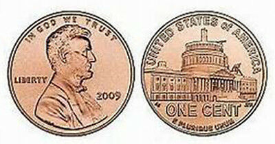 2009 P Lincoln Bicentennial Cent - LP4, BU - Lincoln Presidency