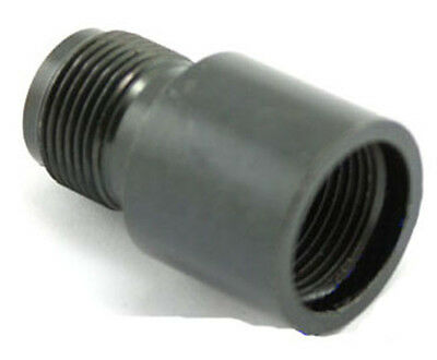 AIRSOFT SILENCER ADAPTER 14Mm- To 14Mm+ Ccw To Cw Fast Uk