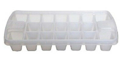 Ice Cube Tray Holds 19 Cubes Whitefurze H02203