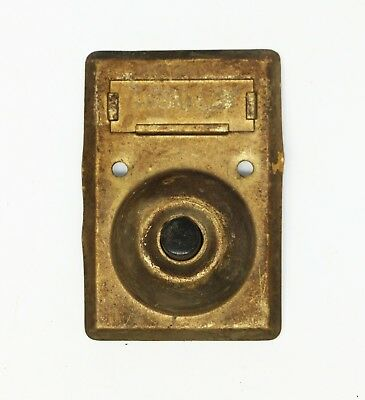 Vintage Square Apartment Doorbell
