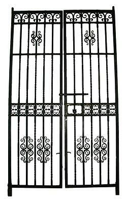 Salvaged Iron Gates by Samuel Yellin