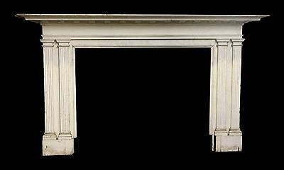 Large Classic White Federal Mantel