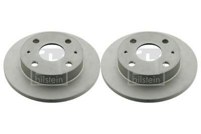 2x Brake Discs Pair Vented fits DAIHATSU EXTOL 1.3 Front 04 to 06 K3-VE 229mm