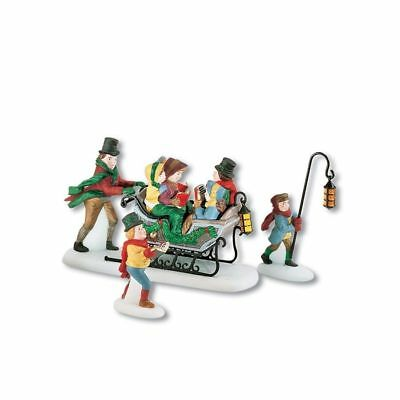 Dept 56 Dickens Village ~ Carol Caroling With The Cratchit Family ~  MIB 58396