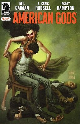 American Gods Shadows #6 (NM)`17 Gaiman/ Russell/ Hampton (Cover A)