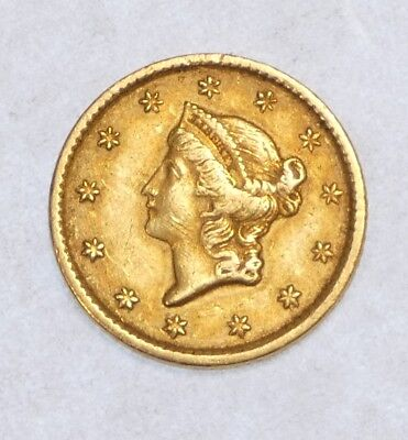 BARGAIN 1851 Ty-1 GOLD Liberty Head $1 Coin EXTRA FINE