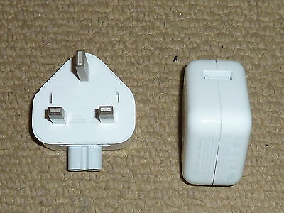 Apple Ipad Iphone 12W Usb Power Adapter Genuine Official Uk Mains Charger A1401