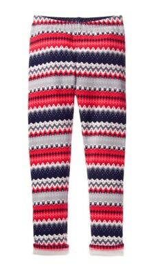 NWT Gymboree Warm and Fuzzy Bright Rose Shimmer Leggings Woodland Weekend