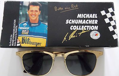Sonnenbrille Michael Schumacher Collection goldfarben