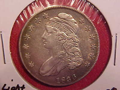 1836 Capped Bust Half Dollar - Lightly Cleaned - Xf+ - See Pics! - (X1628)