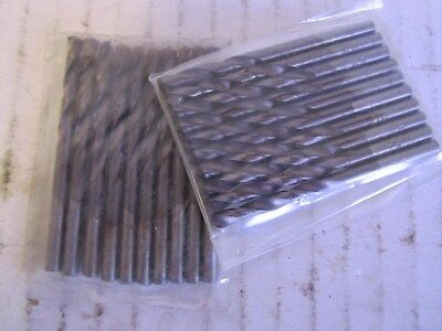 Lot of 20 Screw Machine Length Drill Bits Cobalt Bit Size (wire): #28 New