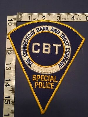 The Connecticut Bank And Trust Company Special Police Shoulder Patch