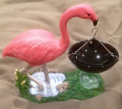OUR AMERICA - Candle WAX  WARMER - FLAMINGO with hanging warmer - tea light