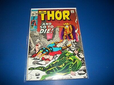The Mighty Thor #190 Bronze Age FVF Beauty