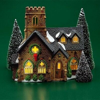 Dept 56 Dickens Village ~ Knottinghill Church ~ Mint In Box 55824