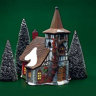 Dept 56 Dickens Village ~ Old Michael Church ~ Mint In Box 55620