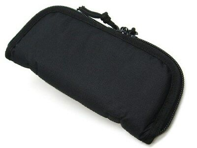 """CARRY ALL Black 9"""" CONDURA Travel Padded Knife STORAGE Pouch Case New! AC180"""