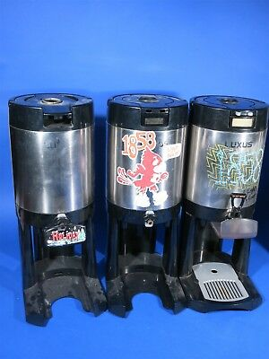 Lot of 5 Fetco / Luxus Coffee Urns / Pots in various states  L3S-10 L3D-10 99026