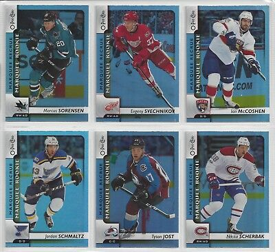 17-18 OPC Complete Your Marquee Rookie Rainbow Set #501-550