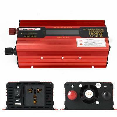 New Auto Car Power Inverter 600W-3500W DC 12V to AC 110/220V Charger Converter