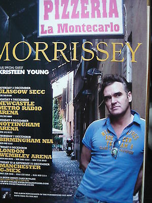 Morrissey - Magazine Cutting (Full Page Advert) (Ref Jd1)
