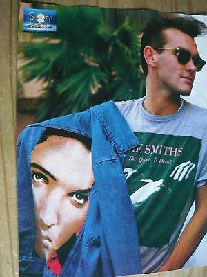Morrissey - 80's Magazine Cutting (Full Page Photo) (Ref Te)