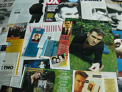 Morrissey/the Smiths - Magazine Cuttings Collection (Ref Aa2)