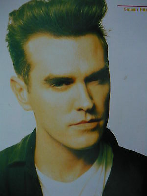 Morrissey - Magazine Cutting ( Full Page Photo) (Ref 1Ea)