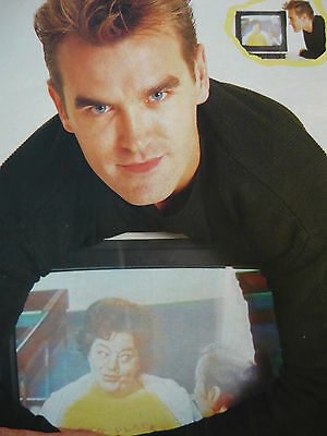 Morrissey - Magazine Cutting (Full Page Photo) (Ref Jd5)