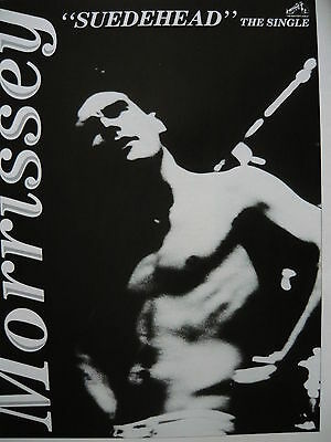 Morrissey - Magazine Cutting (Full Page Advert) (Ref Sg)