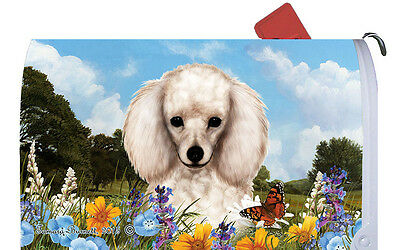 Mail Box Cover - White Poodle 56004
